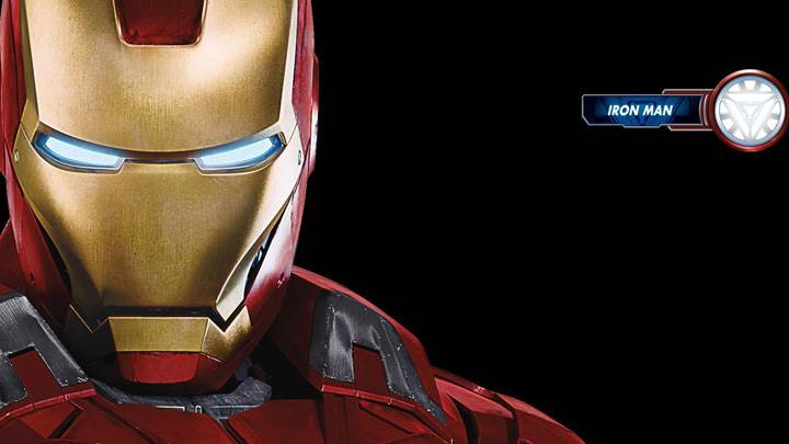 The Avengers – Iron Man Robert Downey Jr. Face Closeup